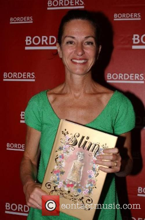 Fashion designer Cynthia Rowley promoting her new book...