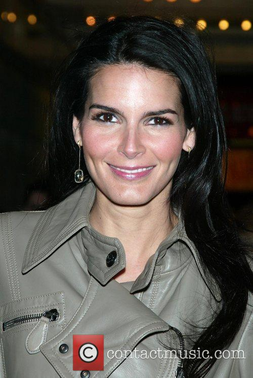 Angie Harmon attending the first preview performance of...