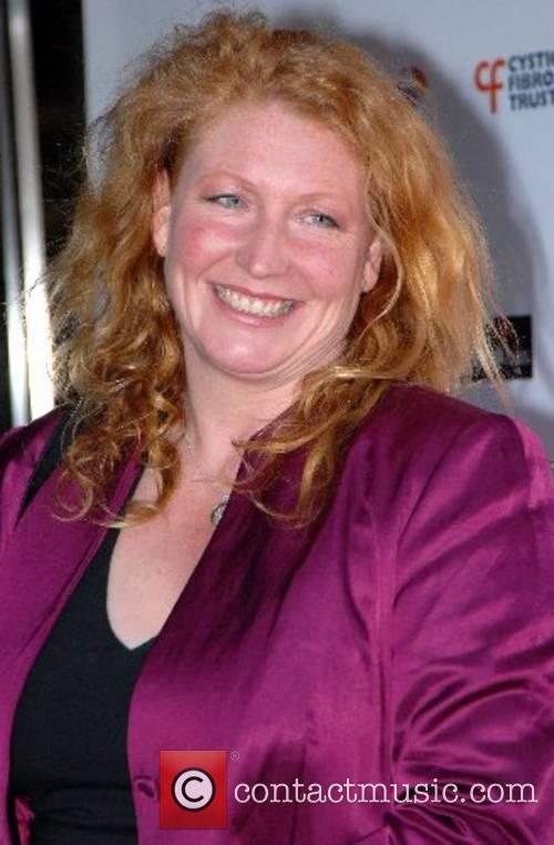 Charlie Dimmock Cystic Fibrosis Trust Breathing Life Awards...