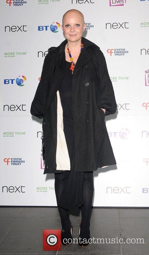 Gail Porter Cystic Fibrosis Trust Breathing Life Awards...