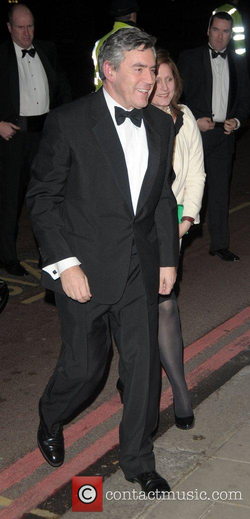 Sarah Brown and Gordon Brown Thierry Henry Cystic...