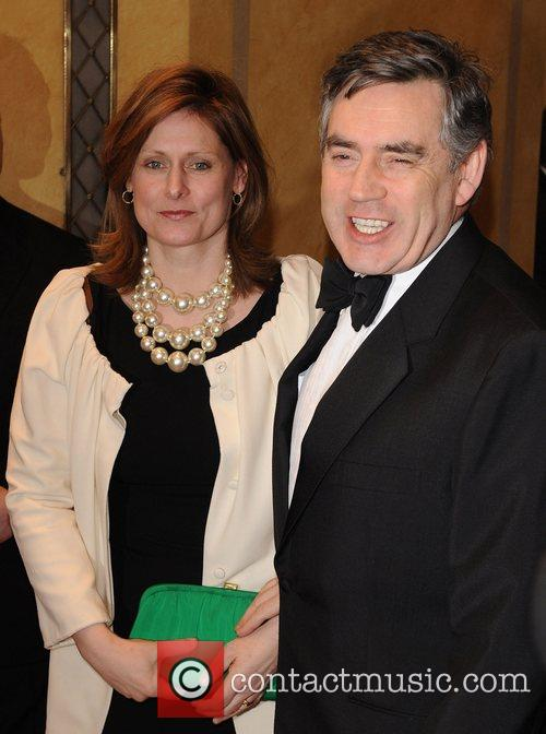 Gordon Brown and Sarah Brown Thierry Henry Cystic...