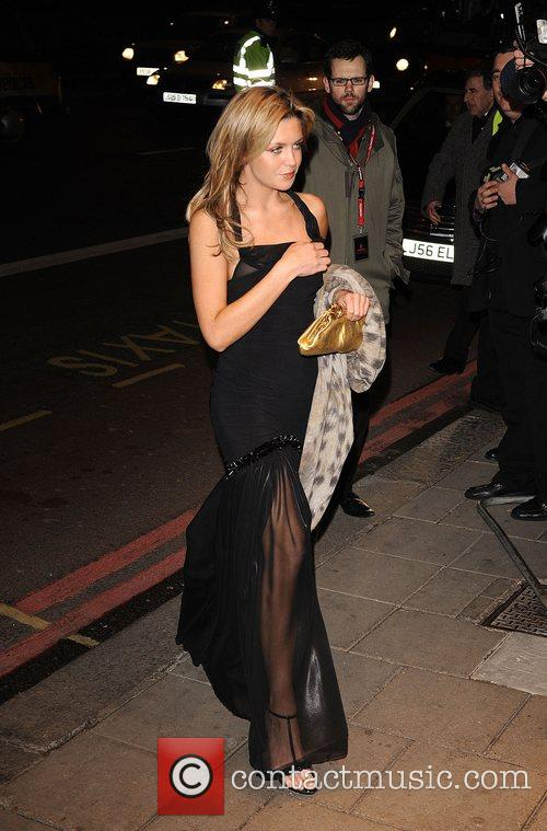 Abigail Clancy Thierry Henry Cystic Fibrosis 'Liv' charity...