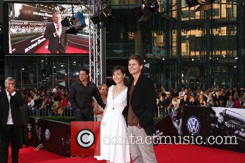 German premiere of 'The Bourne Ultimatum' held at...