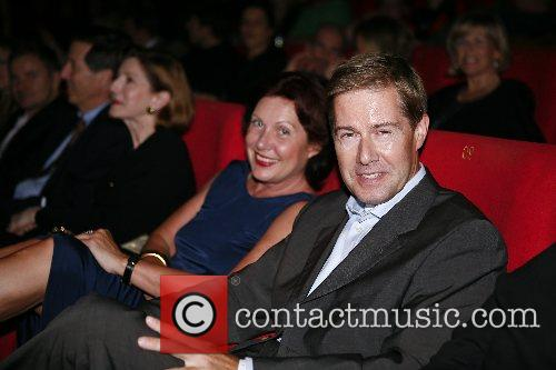Georgia Tornow and guest German premiere of 'The...