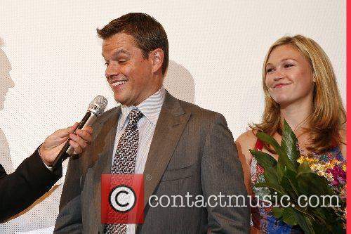 Matt Damon, Julia Stiles German premiere of 'The...
