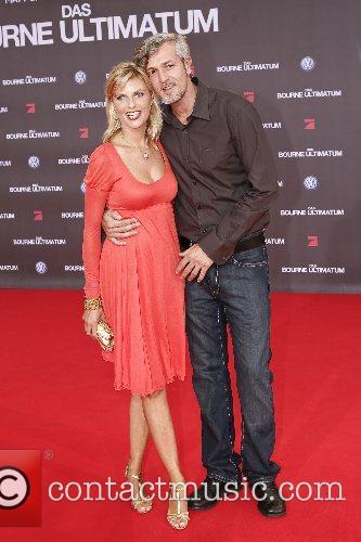 Guests German premiere of 'The Bourne Ultimatum' held...