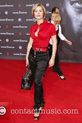 Regina Kramer German premiere of 'The Bourne Ultimatum'...