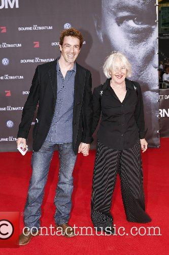 Gedeon Burkhard and mother German premiere of 'The...