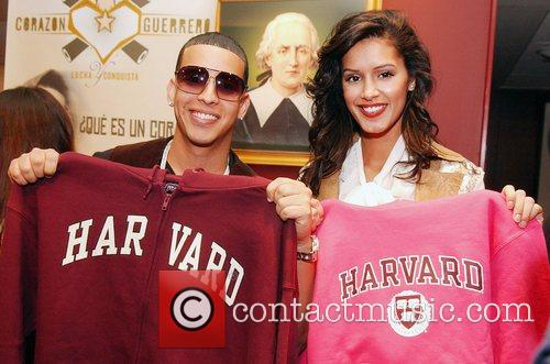 Daddy Yankee and Jaslene Gonzalez 9