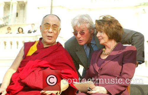 Dalai Lama and Richard Gere 6