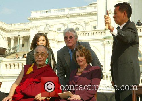 Dalai Lama and Richard Gere 3