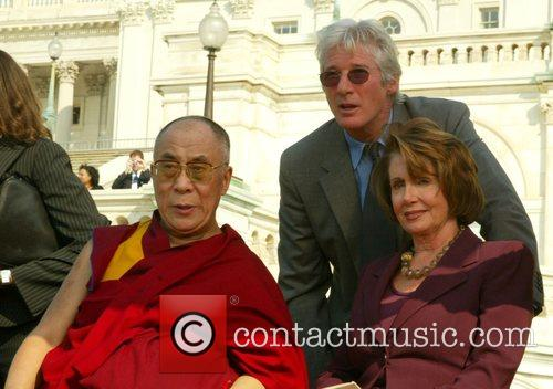 Dalai Lama and Richard Gere 4