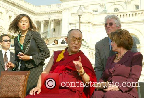 Dalai Lama and Richard Gere 2
