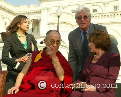 Dalai Lama and Richard Gere 1