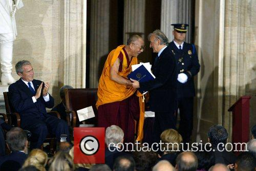 President George Bush, Dalai Lama and Nobel Laureate...