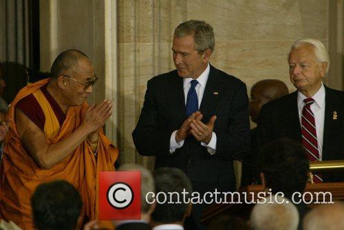 President George Bush, Dalai Lama and Majority Leader...