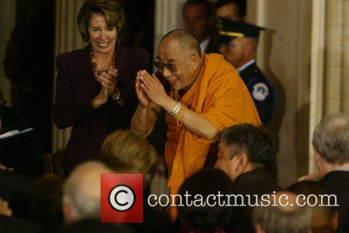 Dalai Lama and Speaker Of The House Nancy Pelosi 10
