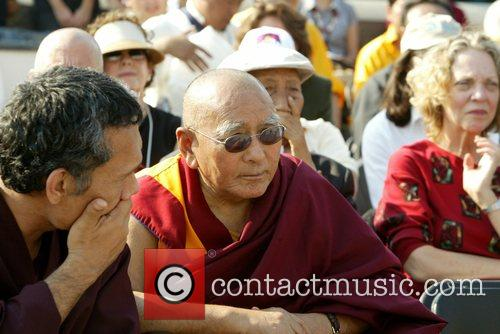 Atmosphere  His Holiness the 14th Dalai Lama...