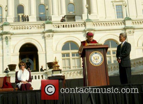 Nancy Pelosi and Dalai Lama Richard Gere and...