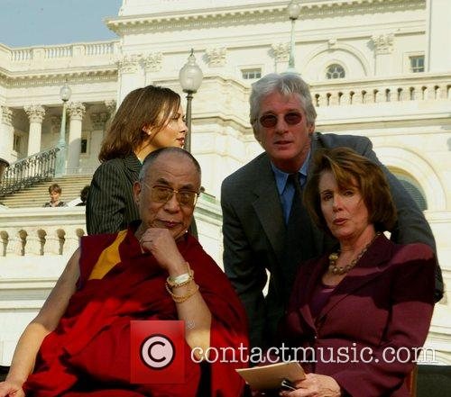Dalai Lama and Richard Gere 7