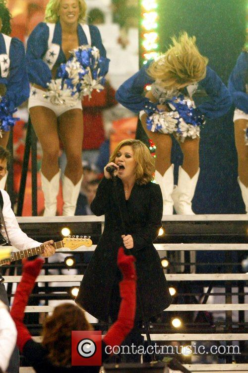 Performing at the Thanksgiving NFL Halftime Show in...