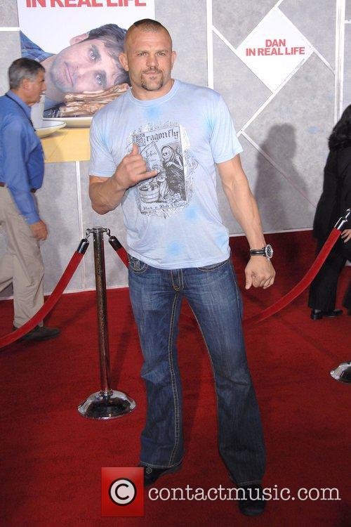 Chuck Liddell World Premiere of 'Dan In Real...