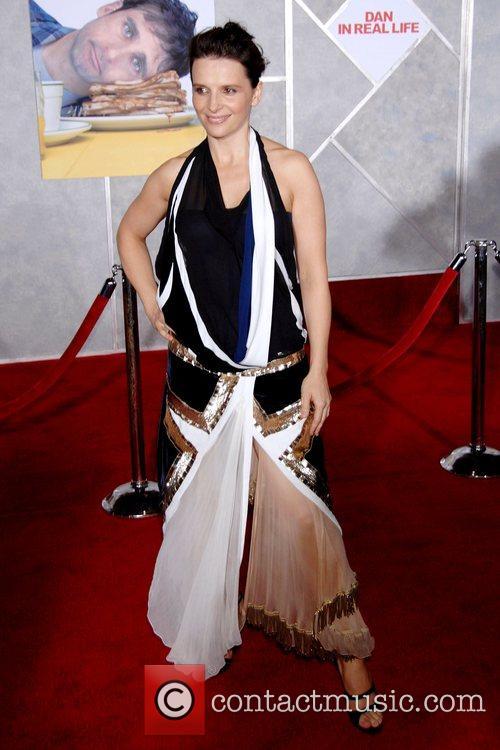 Juliette Binoche World Premiere of 'Dan In Real...