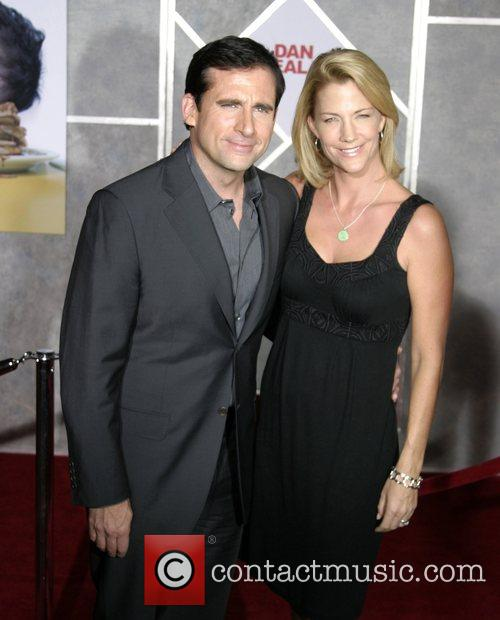 Steve Carell and wife Nancy Walls World Premiere...