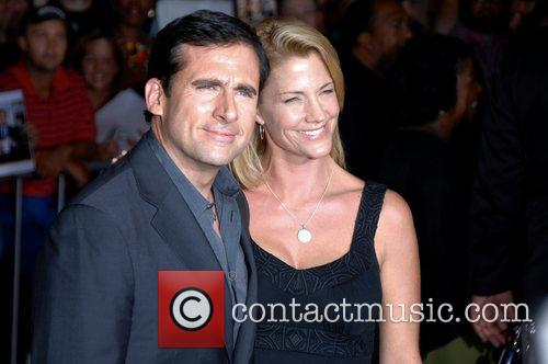 Steve Carell, his wife Nancy Walls