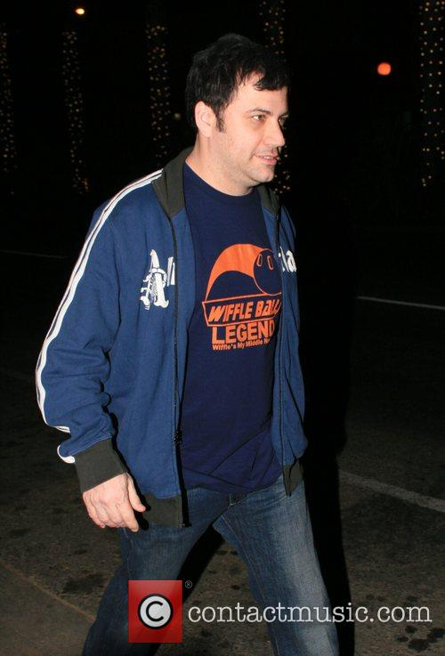 Jimmy Kimmel of the ABC show 'Jimmy Kimmel...
