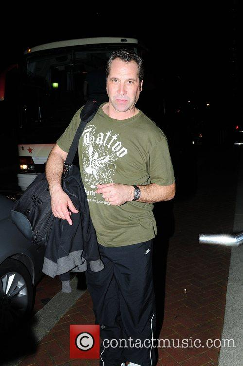 David Seaman returning to the Lowery Hotel after...