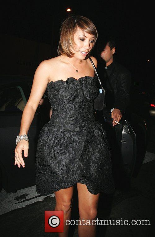 Cheryl Burke 'Dancing with the Stars' celebrities arriving...