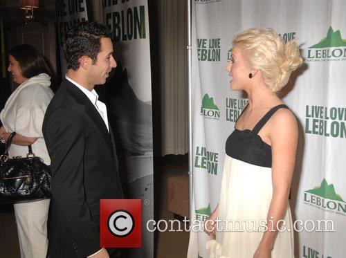 Helio Castroneves and Julianne Hough 1