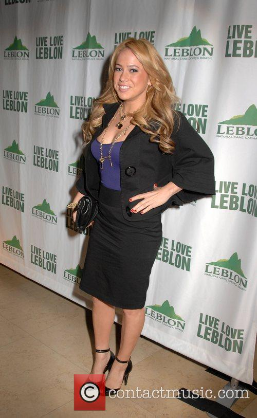 Sabrina Bryan Dancing with the stars Party held...