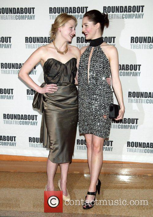 Mamie Gummer and Jessica Collins Opening Night of...
