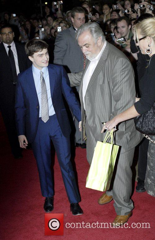 Daniel Radcliffe and Rod Hardy  the director...
