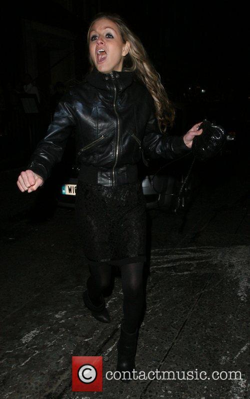 Nikki Grahame at the Embassy Club London, England