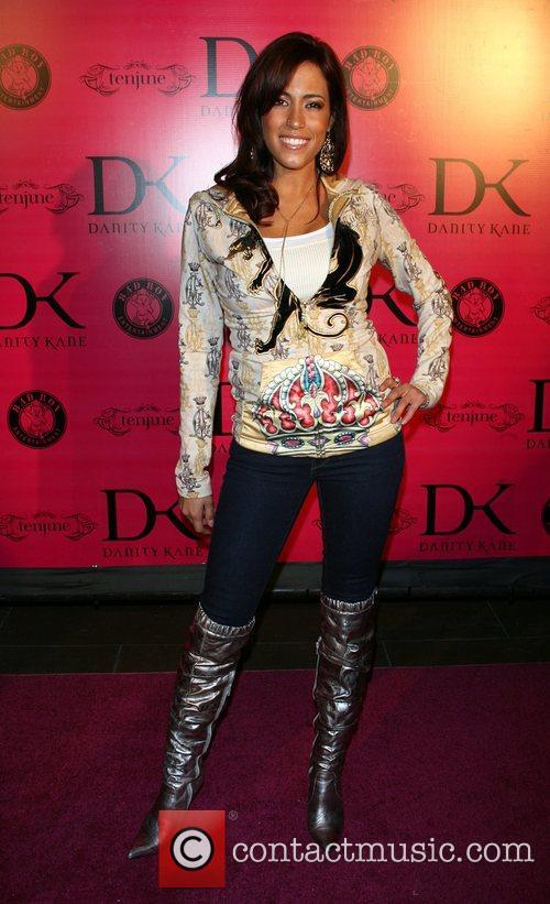 Amber Lee Inger Danity Kane album release party...