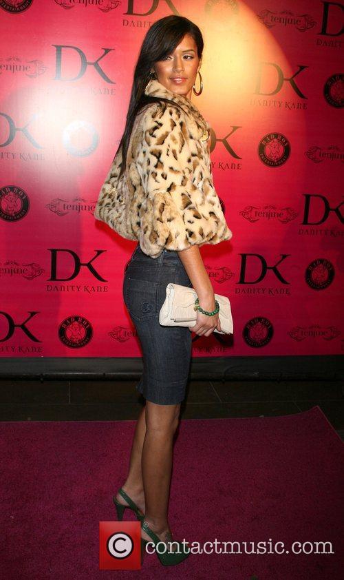 Jaslene Gonzalez Danity Kane album release party at...
