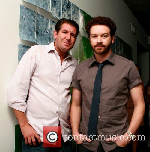 Michael Capponi and Danny Masterson at the Bacardi...