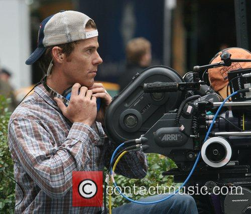 Working as a cameraman on the set of...