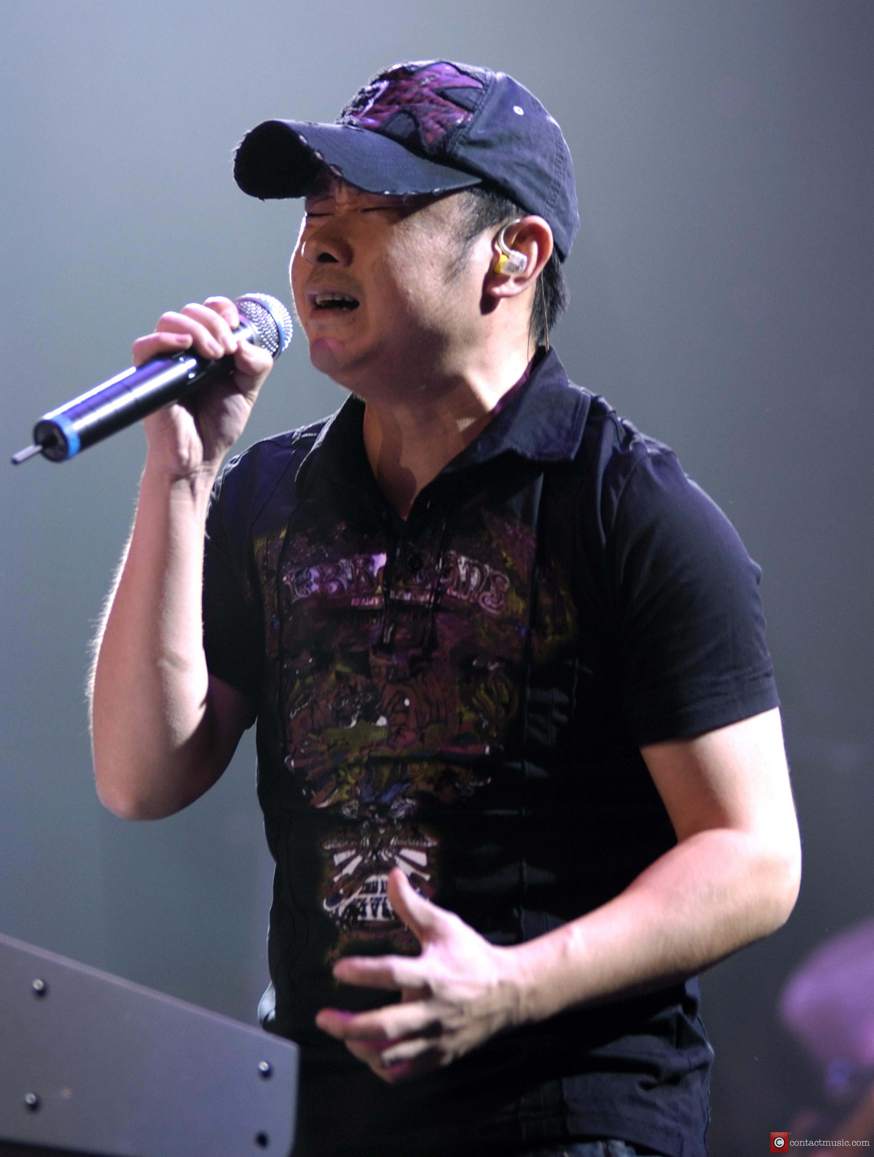 Singer Dao Lang from China, performing live in...