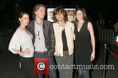 Taylor Hanson and Zac Hanson and wives Director's...