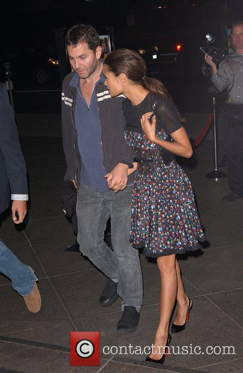 Thandie Newton and husband A Special Preview Screening...