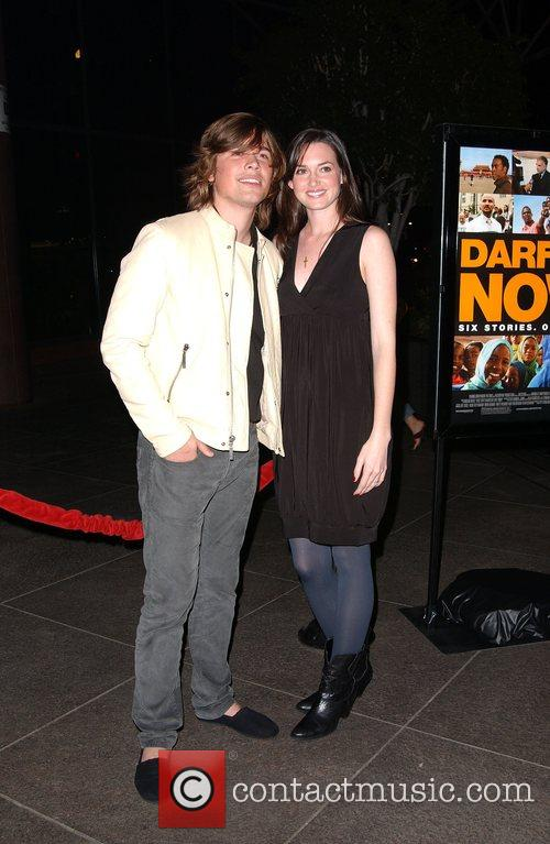 Zac Hanson and wife A Special Preview Screening...