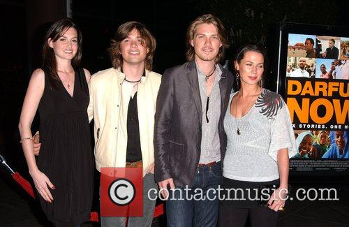 Zac Hanson, Issac Hanson with partners A Special...