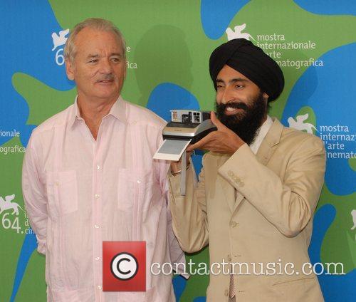 Bill Murray and Waris Ahluwalia. 6