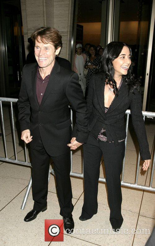 Willem DaFoe and Guest  New York Film...