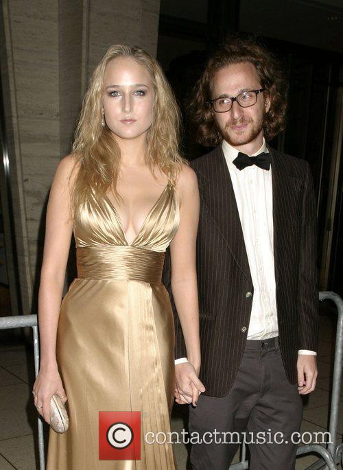 Leelee Sobieski and Wes Anderson